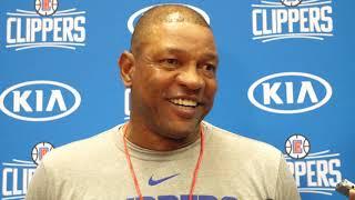 Head Coach Doc Rivers Media Availability (9/25) | 2018 Training Camp