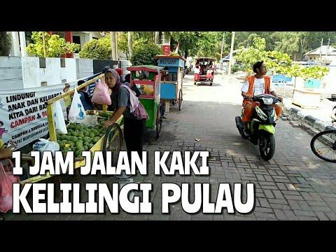 Jalan Kaki Kelilingi Pulau Pramuka Cuma Butuh 1 Jam | Wisata Kepulauan Seribu Islands