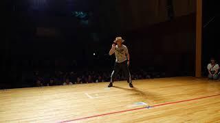しんぺー vs かじゅ BEST8 APOP アニソンダンスバトル 筑前人 vol.10 DANCE BATTLE thumbnail