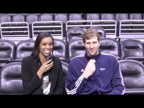 Exclusive Interview with Dallas Mavericks Dirk Nowitzki