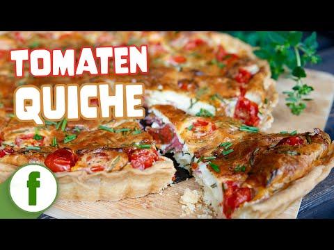 knusprige-tomaten-quiche-mit-frischkäsefüllung