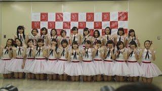 NGT48が初ステージ 26人、歌と踊り披露 NGT48 debuts in Niigata