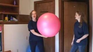 Autism support: Top game ideas using a therapy ball from The Son-Rise Program®