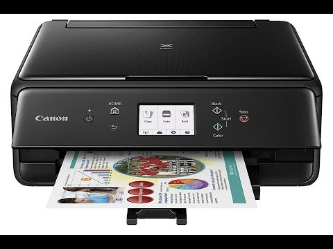 Canon TS6020- How To Clean Printhead - Error Code- Not Printing Black/ Color