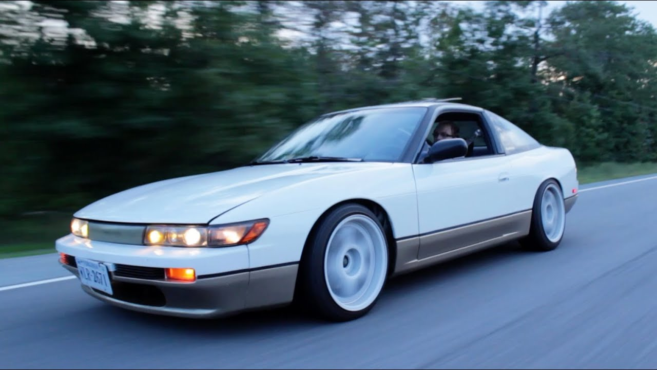 Nissan S13 240SX RB25 Review! - YouTube