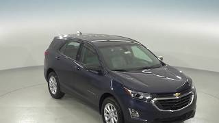 182808 - New, 2018, Chevrolet Equinox, LS, Blue, SUV, Test Drive, Review, For Sale -