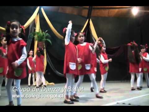 Colegio Angol - Danza de Muñecas