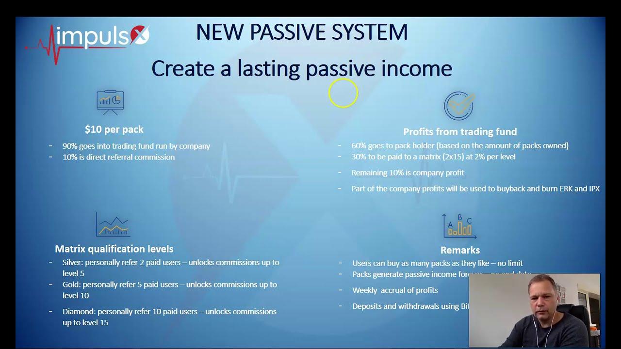 ImpulsX - Amazing New Passive Income System