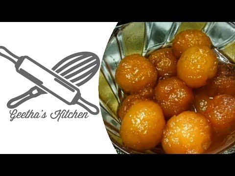 Bread Gulab jamun in Tamil/ Instant Gulab jamun/ Bread ...