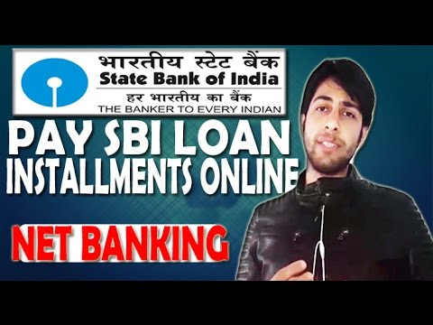 How to Pay loan EMI online using SBI Bank
