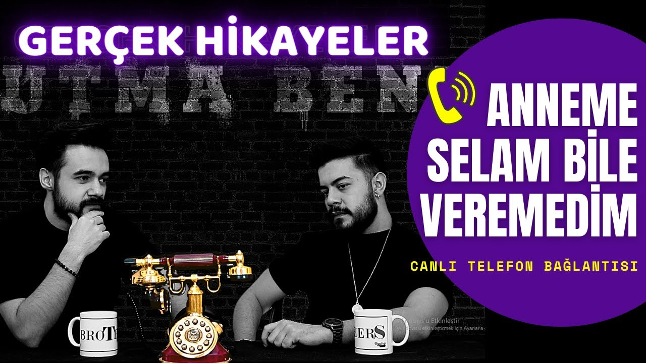 ANNEM BANA OĞLUM BİLE DİYEMEDİ !! / GERÇEK HAYAT HİKAYELERİ