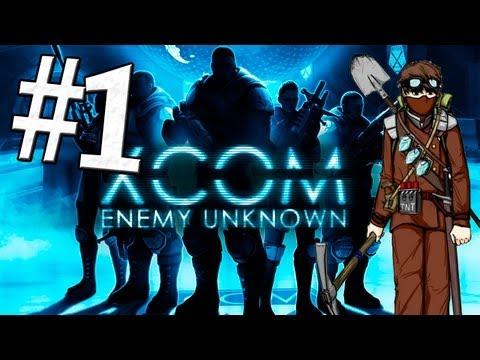 XCOM Enemy Unknown: Первый контакт - Часть 1 [Ironman]