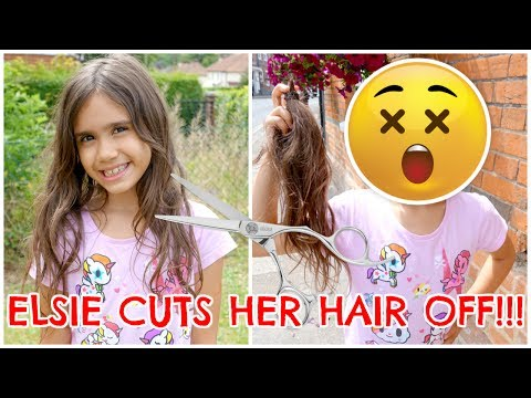 ELSIE CUTS HER HAIR OFF!!! #3 VLOG