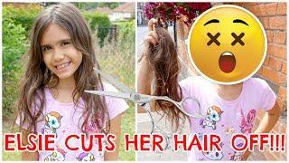 ELSIE CUTS HER HAIR OFF!!! #3 VLOG