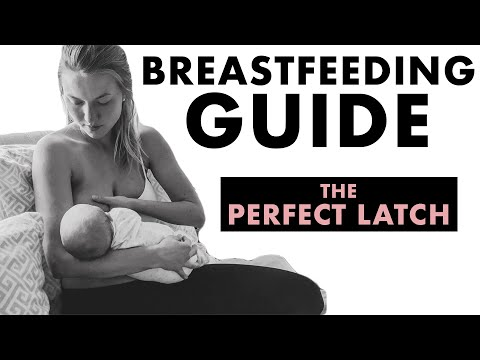 Breastfeeding Tips On How To Get A Deep Latch \u0026 How To Avoid Pain While Nursing