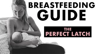 Breastfeeding Tips on How to Get a Deep Latch & How to Avoid Pain While Nursing