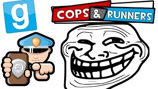 Garry S Mod COPS AND RUNNERS TROLLING THE WARDEN 6 W Wade Bob Markiplier