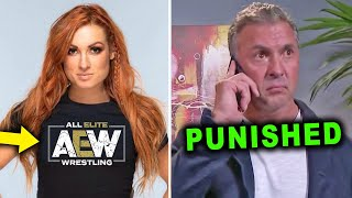 BECKY LYNCH Signs with AEW Shane McMahon Punished After BIG Mistake Wrestling News Rumors