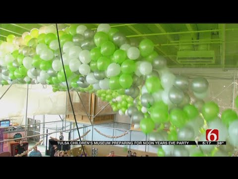 Noon Year's Eve Event A Party For Tulsa Kids To Celebrate New Year