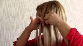 как сделать быстро прическу самой(Это видео создано с помощью видеоредактора YouTube (http://www.youtube.com/editor), 2014-06-09T09:32:02.000Z)