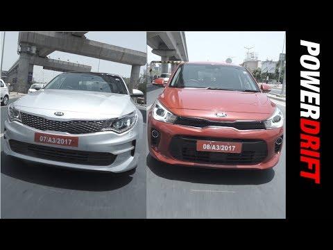 Kia Motors : India bound Rio & Optima Tested! : PowerDrift