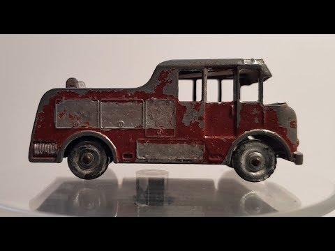 MATCHBOX Restoration No 9c  Merryweather Marquis Fire Truck 1959