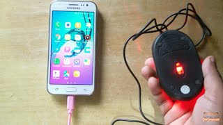 Samsung Galaxy J2 OTG test with USB Mouse ᴴᴰ| Samsung 2017 | 2016 | 2015 | J2 6 | ALL OTG Support