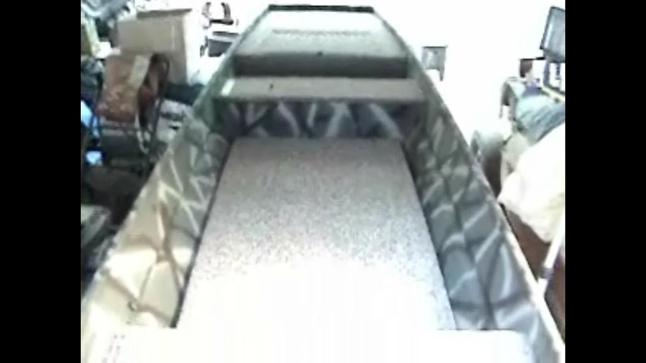 14 Foot Jon Boat Project part 18 THE FINALE! - YouTube
