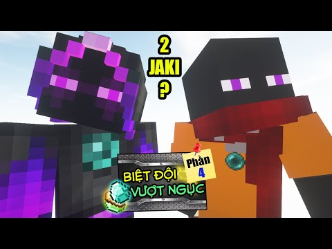 Minecraft Biệt Đội Vượt Ngục (Phần 4) #7- KHI 2 JAKI GẶP NHAU 👮 vs 🐺
