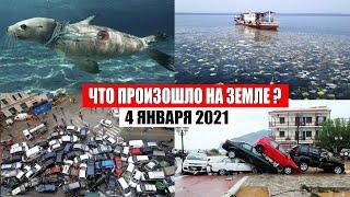 Катаклизмы за день 4 января 2021 | месть природы,изменение климата,событие дня, в мире,боль земли