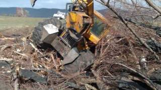 Hardcore skidder work