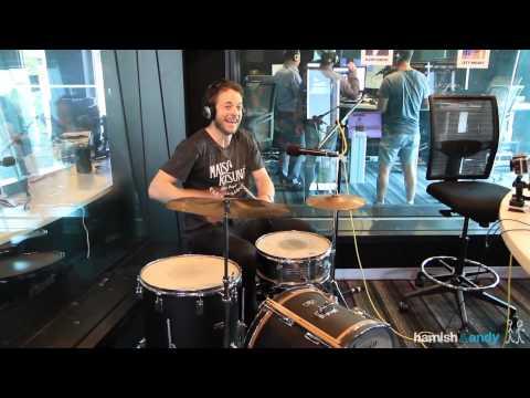 Hamish's Drum Audition