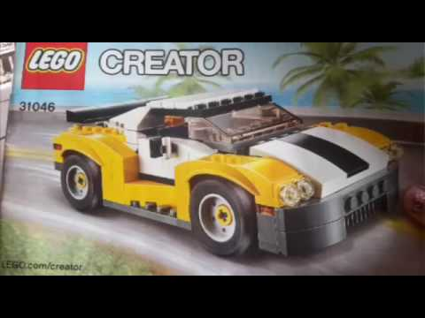 lego creator voiture de course youtube. Black Bedroom Furniture Sets. Home Design Ideas