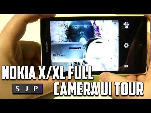 Nokia X / XL Full Camera UI Tour - @nokia @nokia_uk
