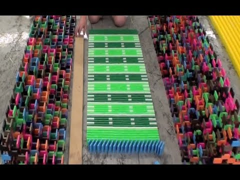 45,000 Dominoes - Domination 2012 (The Falldown)