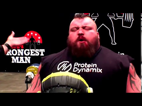 Eddie hall World Record Deadlifts 500Kg!!! Almost killed him!! Savickas impressed!!!