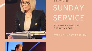 Sunday Service with Pastor Paula White Cain Streaming Live from City of Destiny