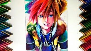 Drawing - Sora (Kingdom Hearts 2)