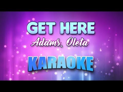 Adams, Oleta - Get Here (Karaoke & Lyrics)