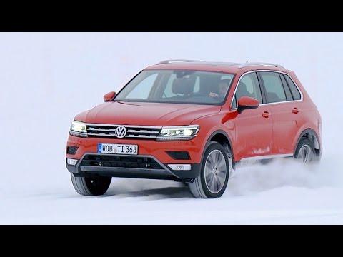 Volkswagen Tiguan (2016) Test Drive on Snow