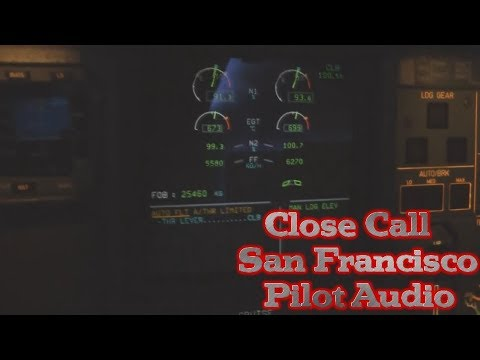 Aeromexico San Francisco Close Call Pilot Audio