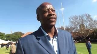 Mzwakhe Mbuli at Vuyo Mbuli