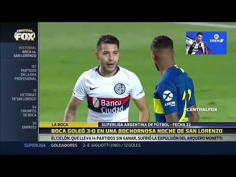 RESUMEN DE BOCA VS SAN LORENZO SUPERLIGA