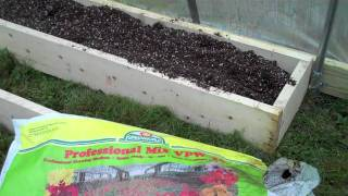 Winter Preparations In Hoop House, Chicken Coop And Gardens