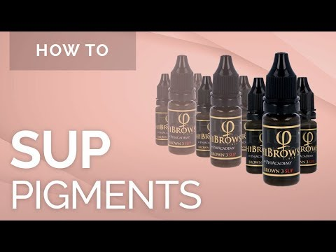 SUP Pigments - Phibrows Microblading Academy USA