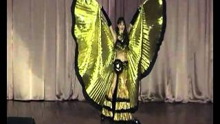 Танец с крыльями (танцы живота)(Восточные танцы | Киев Танец с крыльями Танец живота., 2011-07-01T12:45:53.000Z)