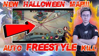 Fanny in NEW Halloween MAP?? Great for Freestyle Kill ! | Official ZX