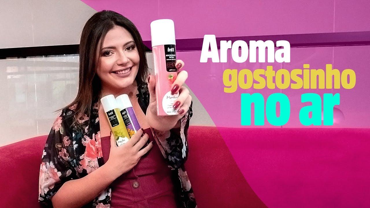 Novos Desodorantes INTT EROS