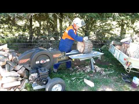 Log Splitter - Kinetic 30 Ton - Black Diamond