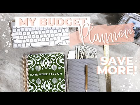 MY BUDGET PLANNER SETUP 2019 | HOW TO MAKE A BUDGET | MONEY SAVING TIPS